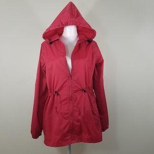 Chadwicks Rain Hoodie Jacket Size M
